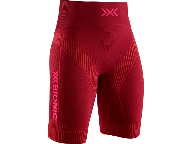 X-Bionic Effektor G2 Løbeshorts Damer, namib red/neon flamingo
